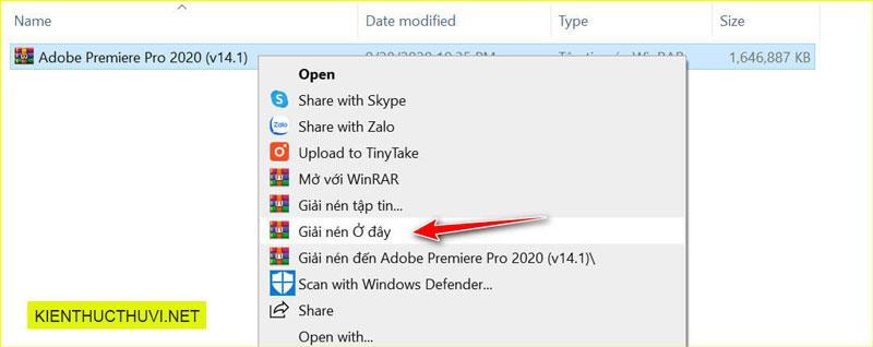 Adobe Premiere Pro CC 2020 Full Vinh Vien
