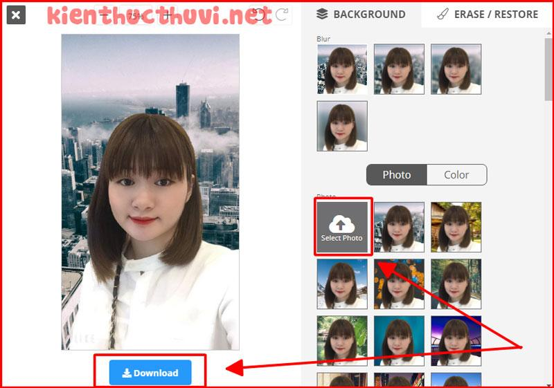 tach nen anh Remove Image Background