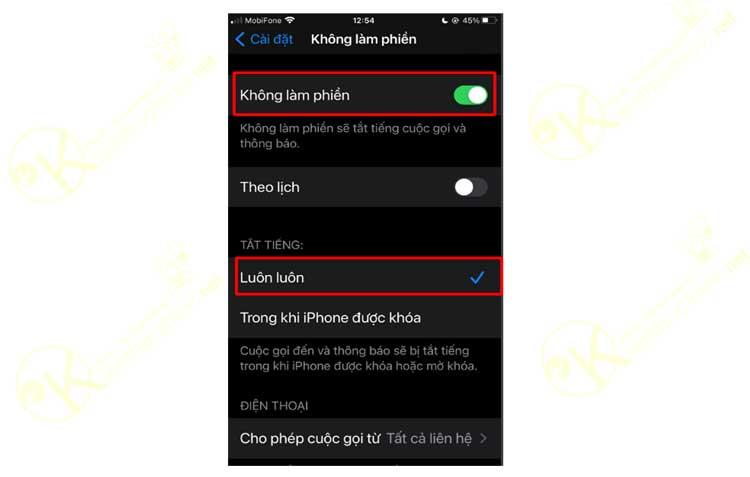Cách trặn số máy lạ gọi đến trên Iphone